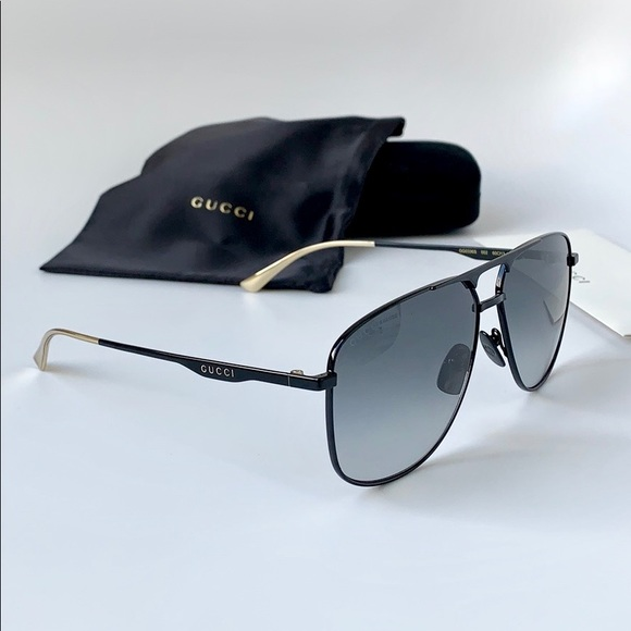 12533103bebc Gucci Accessories | Men Sunglasses Gg0336s002 Blackgrey | Poshmark